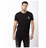 My Brand Angry lion t-shirt – zwart