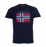 Napapijri N0yhx5176 sadrin t-shirt blauw