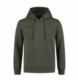 Quotrell Hoodie – army/zwart