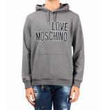 Moschino Love hoody – grijs antraciet