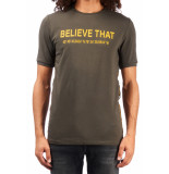 Believe That Control t-shirt – groen army