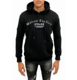 Explicit  Atelier hoodie - zwart