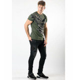 My Brand Risk taker eagle t-shirt – army