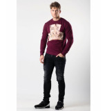 My Brand Risk cards sweater – bordeaux