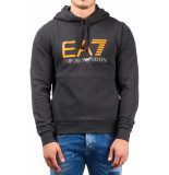 EA7 6zpm46 hoodie - grijs