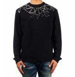 Frankie Morello 8208fe paise sweater – zwart