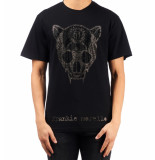 Frankie Morello 8286 t-shirt – zwart