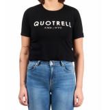 Quotrell Ladies tee logo brand t-shirt – zwart