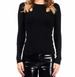 Guess Ls rn brenda sweater – zwart
