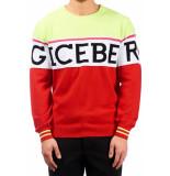 ICEBERG A005 trui rood/groen