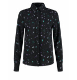 Nikkie Milkyway rizzo blouse - zwart