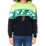 ICEBERG Pa011 hoodie groen wit