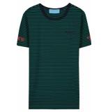 FRANZEL AMSTERDAM : in gold we trust fa-076 t-shirt groen