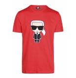 Karl Lagerfeld Cartoon t-shirt - rood