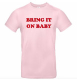 The Girl and Ibiza Tgai bring it on t-shirt - roze