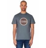 Colmar Solid t-shirt groen/grijs