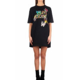 Love Moschino Love moschino butterfly logo jurk – zwart