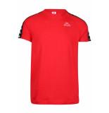Kappa Banda coen slim t-shirt - rood