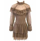 Goldie Estelle Clover jurk - beige