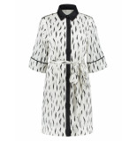 Fifth House Sisi shirt dress wit