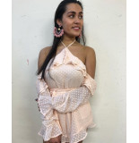 Runaway Lighthearted playsuit roze