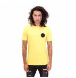 Radical Elio badge t-shirt geel