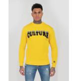Explicit  Culture sweater - geel