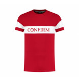 Confirm 3d band t-shirt brand - rood