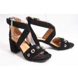 Via Vai 5202027 sandalen zwart