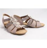 Gabor 22.73.2 sandalen taupe