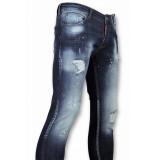 Addict Heren spijkerbroek blauw