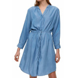 Selected Femme Slfnoma hw midi skirt light blue denim