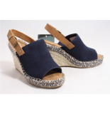 TOMS 10013439 monica sandalen blauw