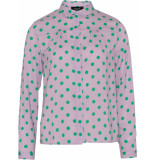 Sisters Point Vefia-shirt violet dot paars