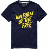 G-Star Graphic 9 t-shirt blauw