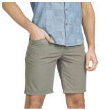 PME Legend Curtis short cotton twill pewter grijs