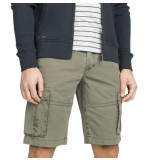 PME Legend Airliner short broken twill dusty olive groen