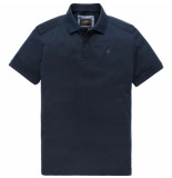 Vanguard Short sleeve polo jersey mercerize dark sapphire blauw
