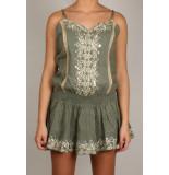 By Pixie Mirror jurk - groen