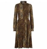 JUST FEMALE Elinor dress bruin