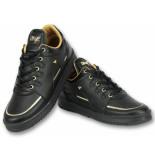 Cash Money Sneakers heren schoenen zwart