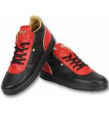 Cash Money Mannen schoenen sneakers rood