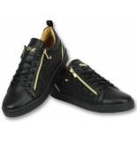 Cash Money Sneakers mannen zwart