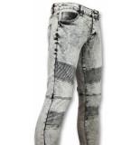 New Stone Biker skinny jeans heren