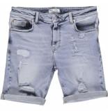 Just Junkies Mike shorts ob blauw denim