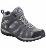 Columbia Wandelschoen redmond mid women's light grey sky blue grijs