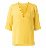 YAYA T-shirts tops 127315 geel