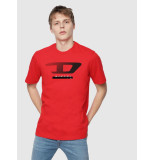Diesel T-shirts 128176 rood