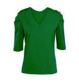 Summum T-shirts tops 129314 groen