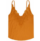 10 Feet Camisole with cutwork embroidery geel